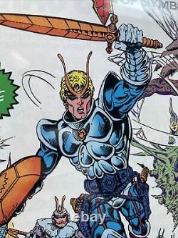 Sectaurs #1 cgc 9.4 RARE DOUBLE COVER Marvel Comics 1985 Coleco Action Figure