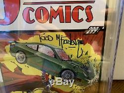 Spawn #228 CGC SS 9.6 Todd McFarlane Signed Action Comics 1 Homage Cover NM