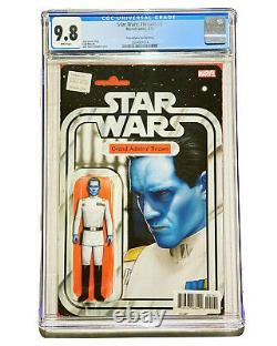 Star Wars Thrawn 1 CGC 9.8 John Tyler Christopher Action Figure Variant Admiral