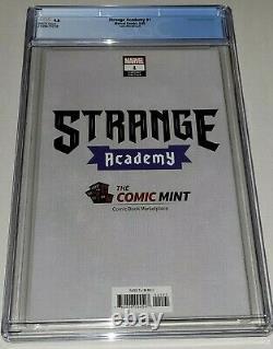 Strange Academy #1 CGC 9.8 NM/MT Peach Momoko Virgin Variant Comic Mint Cover B