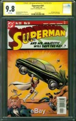 Superman 201 CGC SS 9.8 Ed McGuinness Action Comics 1 Cover Homage