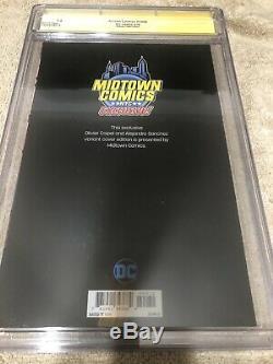 Superman Action Comics 1000 CGC 9.8 SS Oliver Copiel Midtown Variant
