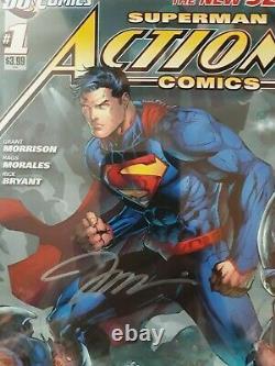 Superman Action Comics 1 CGC SS 9.8 Jim Lee and Alex Sinclair