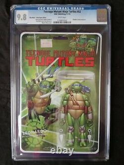 Teenage Mutant Ninja Turtles #52 Leonardo Action Figure Variant Ltd. 1k Cgc 9.8