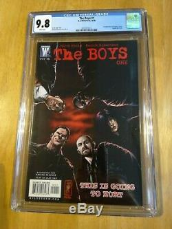 The Boys #1 CGC 9.8 1st Appearance Butcher Hughie Amazon 2006 DC WILDSTORM COMIC