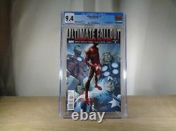 ULTIMATE FALLOUT #4,1st PRINT, CGC GRADED 9.4,1st MILES MORALES, SPIDERMAN
