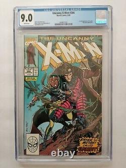 Uncanny X-Men 266 CGC 9.0 First Gambit Marvel Comics