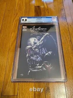 Venom #31 Unknown Comics exclusive Dell'Otto variant cover A+B CGC 9.8 W Coa