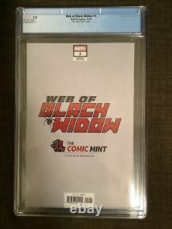 Web of Black Widow #1 Shannon Maer Virgin Variant CGC 9.8 Marvel Comics