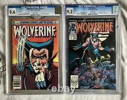 Wolverine #1 1988 & 1982 (Both Comics) CGC 9.4 & 9.2