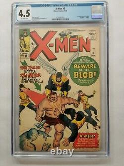 X-Men 3 1st App The Blob CGC 4.5 Marvel Comics
