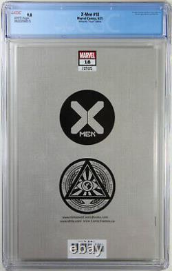 X-men #18 (david Nakayama Exclusive Virgin Variant) Comic Cgc Graded 9.8 Nm/m