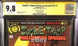 Zombie Tramp Halloween Special #1 Cgc Ss 9.8 Bill Mckay Action Lab Comics 2016