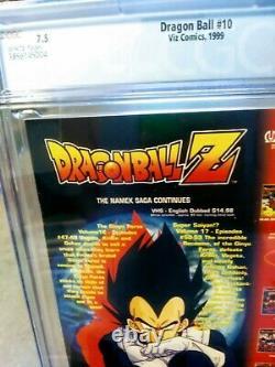 1999 Dragonball #10 Viz Comics Cgc 7.5 (première Impression) Couverture De Noël