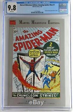 1 Action Comics & Spiderman 1 Cgc Incroyable 9.8 (x-men 1 1963 Liste En Cours)