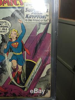 1ère Application. Supergirl Action Comics 252 1959 Pgx 2.5 Cgc