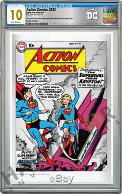 2019 DC Comics Action Comics # 252 Foil Premium Silver Cgc 10 Gem Mint Fr
