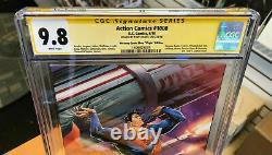 Action #1000 Cgc Ss 9.8 Uncanny Comics Signé Tony Daniel Virgin Superman Cover