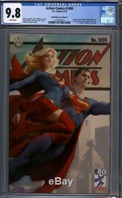 Action Comics # 1000 Buymetoys Artgerm Vierge Supergirl Superman Variante Cgc 9.8