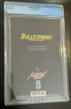 Action Comics 1000 Cgc 9.8 Bulletproof Comics Sketch Édition Del'otto Cover
