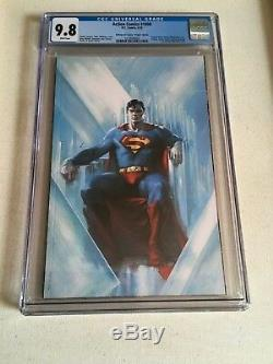 Action Comics # 1000 Cgc 9.8 Gabrielle Dell'otto Vierge Variant Cover