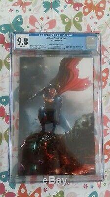 Action Comics # 1000 Cgc 9.8 Mattina Vierge Variante Et Robe Du Commerce