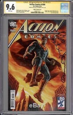 Action Comics # 1000 Cgc Ss 9.6 (remarqued Et Signé Par Lee Bermejo)
