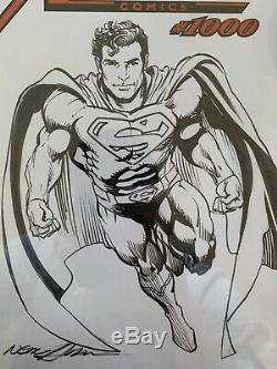 Action Comics # 1000 Cgc Ss 9.8 Neal Adams Sketch Commission