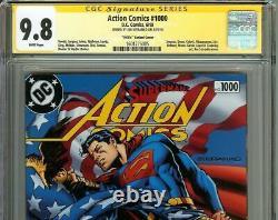 Action Comics 1000 Cgc Ss 9.8 Signe Steranko Superman Variant Cover Flag 1970