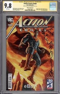 Action Comics # 1000 Cgc Ss 9.8 (remarqué Et Signé Par Lee Bermejo)