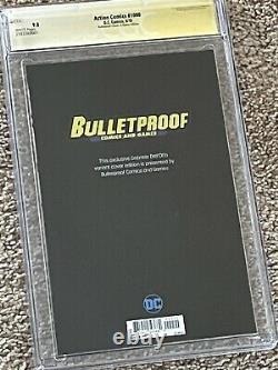 Action Comics 1000 Gabriele Dell Otto Bulletproof Variante 9.8 Cgc Signé