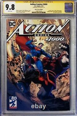 Action Comics 1000 Jim Lee Tour Edition 2018 Cgc 9.8 Signature Series Superman