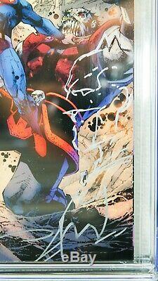 Action Comics # 1000 Jim Lee Tour Edition Cgc Ss 9.6 W Original Superman Sketch