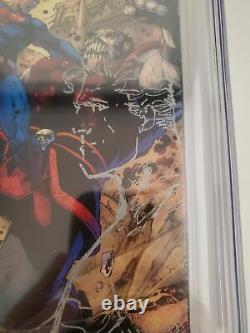 Action Comics #1000 (cgc 9.8) Jim Lee Signé - Croquis! Couverture De Variante De Tournée