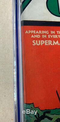 Action Comics # 11 Cgc Noté 5.5! Owithw Pages (dc 1939) Beau Livre