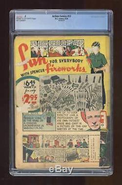 Action Comics # 13 Cgc 0,5 1939 1417264001