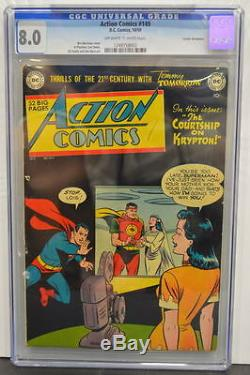 Action Comics # 149 Cgc 8.0 Superman 1950 Copie Avec Les Meilleures Notes