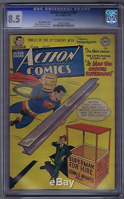 Action Comics # 159 DC 1951, Ccg 8.5 (très Fin +)