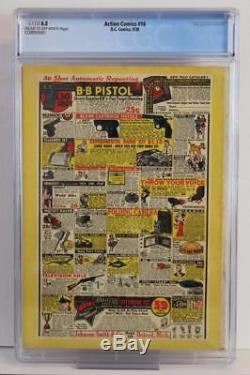 Action Comics # 16 Cgc 6.5 Fn + DC 1939 (superman) Exposition Universelle De New York 39 Annonces