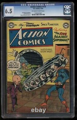 Action Comics 175 Cgc Amende Plus Troisième Plus Élevé Classé Rare Seulement Treize Connus