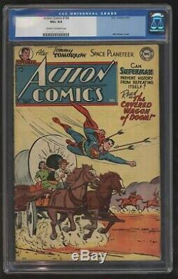 Action Comics 184 Cgc Vg, Plus Rares Que Quatorze Exemplaires Connus