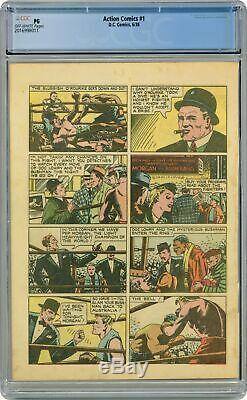 Action Comics (1938 Dc) 1 Cgc Pg 22e Page Uniquement 2016998011