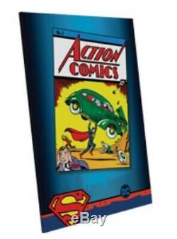 Action Comics 1 Cgc 10.0 Premier Superman 9.9 9.8 Variante Feuille D'argent DC 1er Film