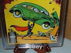 Action Comics #1 Cgc 9.4 Réimpression 1988 DC Comics 1ère Application. Superman