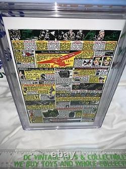 Action Comics #1 Cgc 9,8 Blanc Pgs Loot Crate Juin 1938 Réimprimer 1ère App Superman