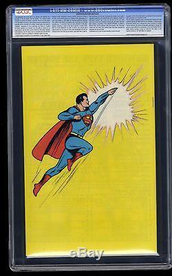 Action Comics # 1 Cgc Nm / M 9.8 Blanc 1988 Réimpression
