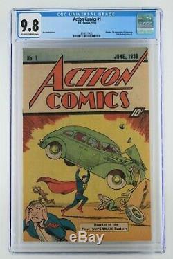 Action Comics # 1 DC 1976 Cgc 9,8 Réimpressions 1er Apparence De Superman