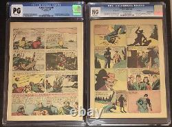 Action Comics #1 Pages #20 & #29 (1er Superman & Lois Lane) Pages Off-white