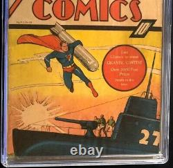 Action Comics #21 (dc 1940) Cgc 1.0 Ultra-humanite App Golden Age Superman