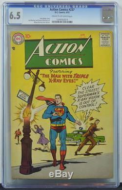 Action Comics # 227 Cgc 6.5 Superman 1957